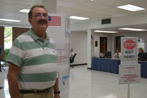 """<p>Franklin voter, Jack Rivers has been a city resident for 23 years. """"I've always tried to vote in each election. As an American, we have that right and should exercise it.""""</p>"""