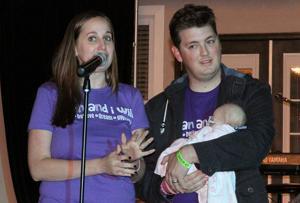 <p>The Castro Family - Samantha, Brandon and baby Elliott. Samantha tells of their journey to understanding their baby's rare disease Rhizomelic Chondrodysplasia Punctata or RCDP.</p>
