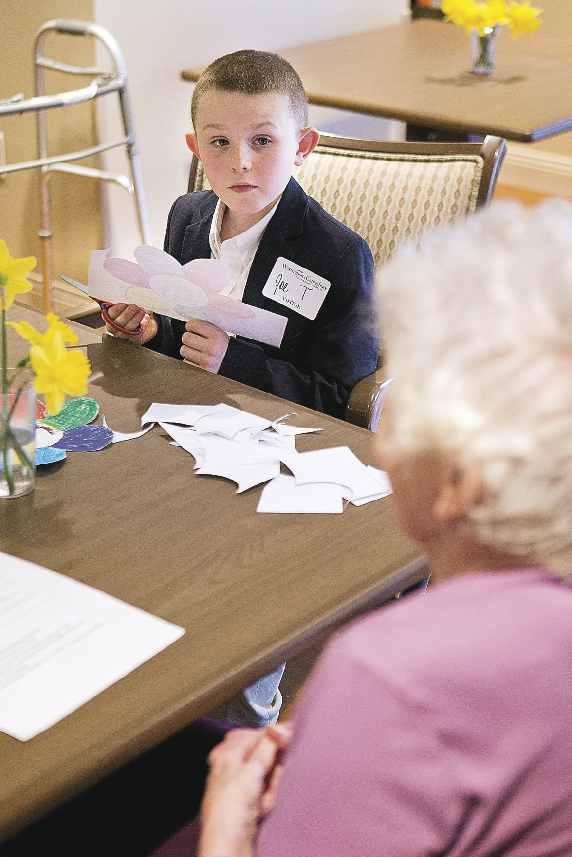 Interview a senior citizen essay