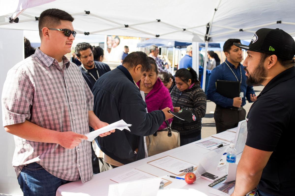 ... Yakima farmworkers employment and resource fair in Union Gap, Wash. on