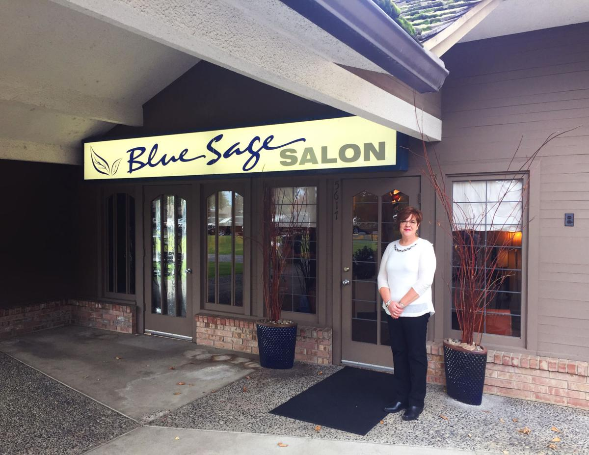 Girl power blue sage salon is all about it boldtype for Sage salon