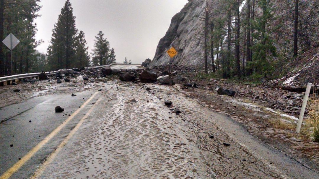U s 12 shut down wsdot warns of extended closure for Landscaping rocks yakima