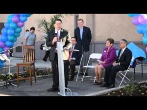AZ attorney general speaks at Amberly's Place Grand Opening