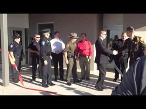 AWC Public Safety Institute ribbon cutting