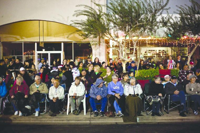 charged for the light parade yuma sun home