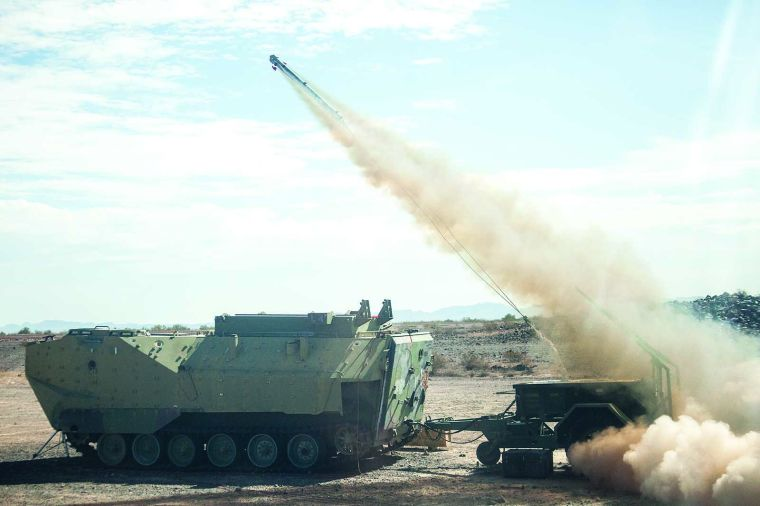 Mine Clearing System Test At Ypg A Success News