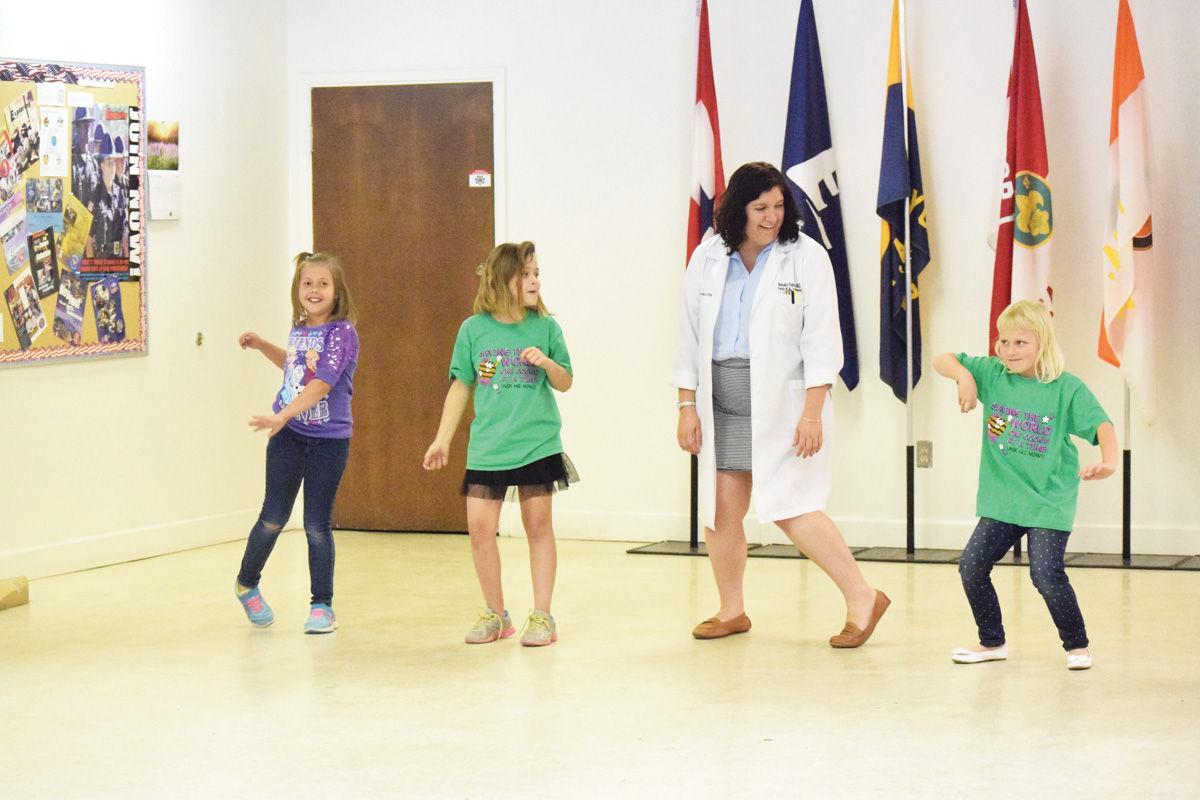 yuma regional family medicine residents adopt girl scout