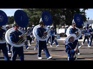 Gadsden Marching Band at Hank Days