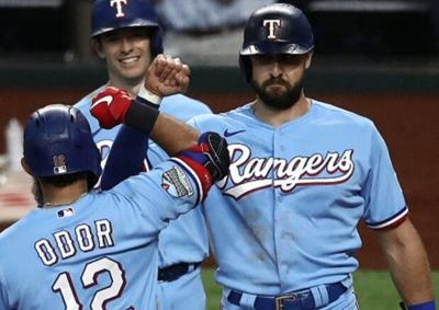 Rougned Odor and Joey Gallo