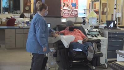 Donating plasma