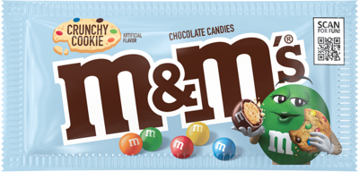 Cookie Filled M&M's are coming soon!
