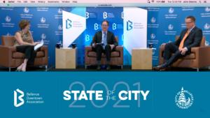 Bellevue Mayor, Deputy Mayor Share Progress in State of City Talk