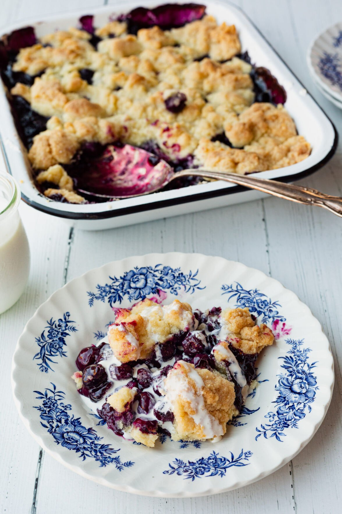 End-of-Summer Blueberries