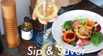 Sip and Savor 8/25