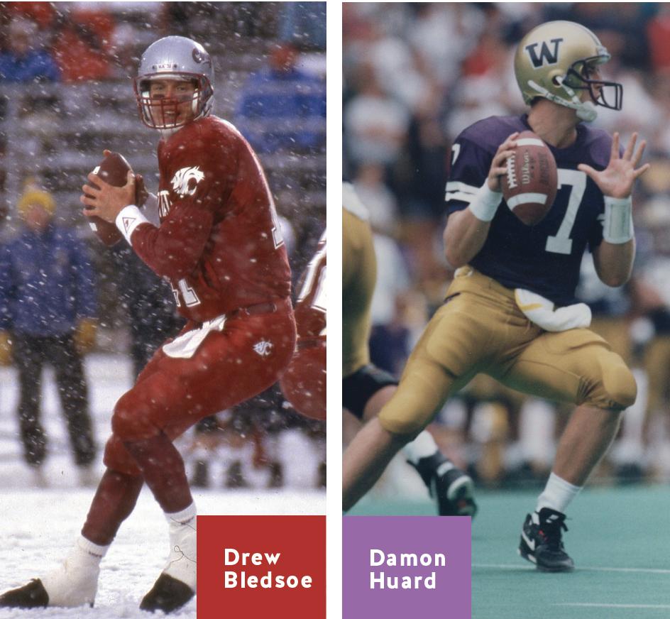 The Apple Cup: Drew Vs. Damon