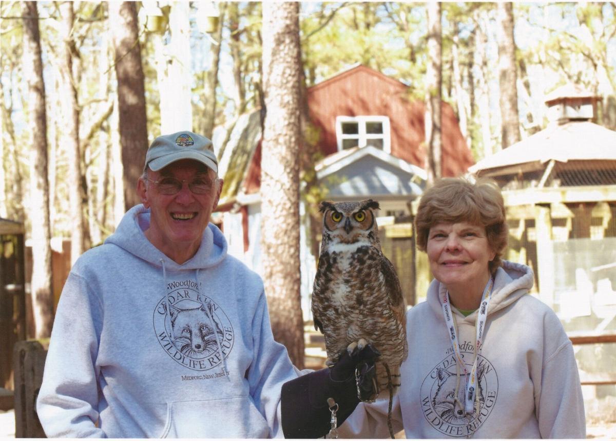 CEDAR RUN VOLUNTEER RICHARD JONES AND WIFE PAM