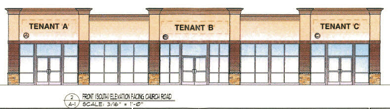 Proposed Mount Laurel office building Church Road