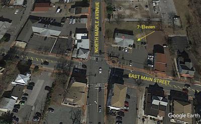 Marlton 7-Eleven Google Earth