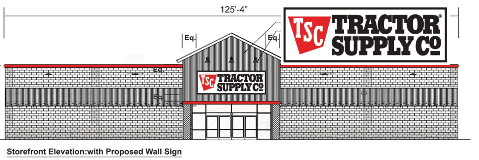Tractor supply rendering