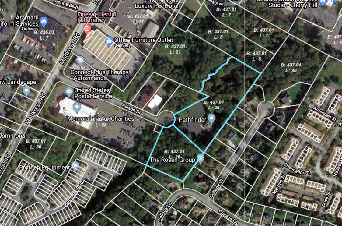 LOT MAP FOR HOURSE OF WORSHIP CHERRY HILL