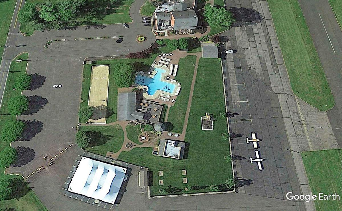 FLYING W AERIAL IMAGE