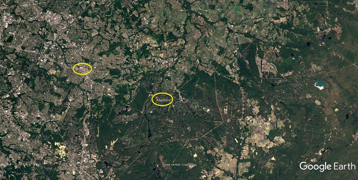 Medford satellite photo