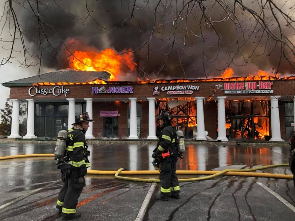 Cherry Hill Short Hills fire