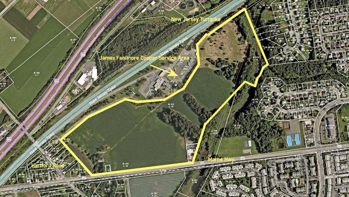 Marne Highway development map
