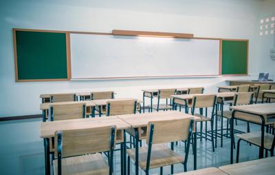 empty school room