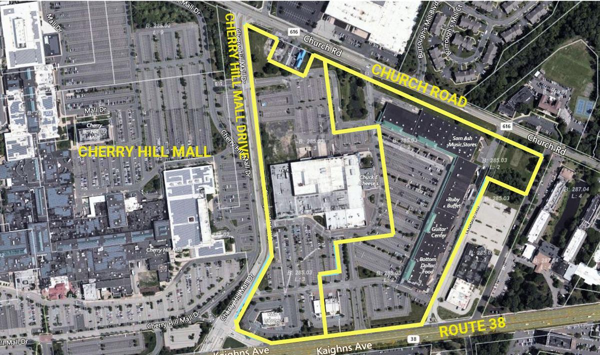 CH redevelopment area