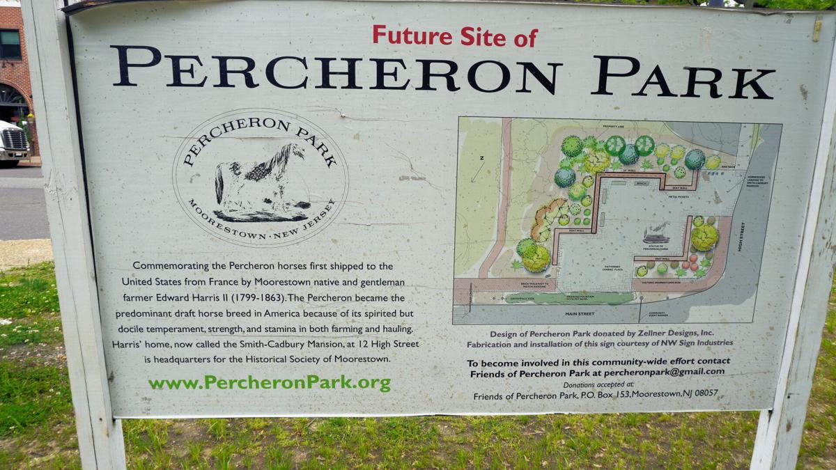 PERCHERON PARK MOORESTOWN SIGN