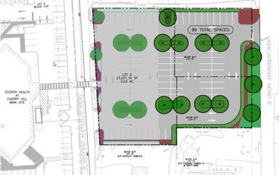Parking lot site plan