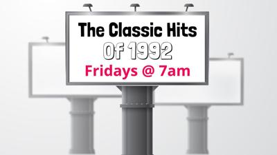 Classic Hits of 1992 Pic