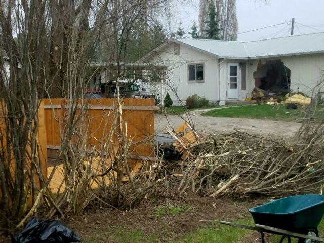 Teen dies in early morning crash into house near Kalispell