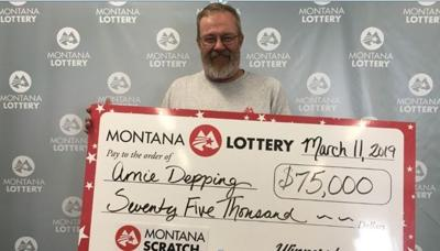Arnie Depping Montana Lottery Winner