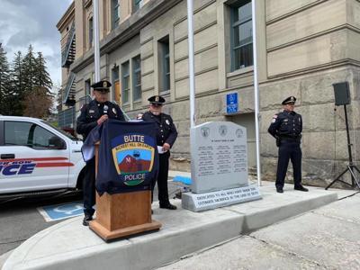 Butte Fallen Officer Memorial