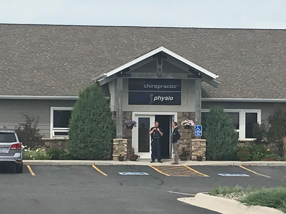 chiropractic raid armed agents