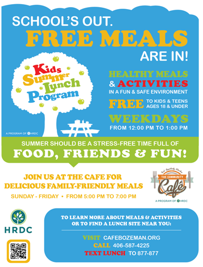 Kids' Summer Lunch Program gets ready to kick off in Gallatin Valley
