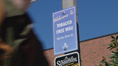 Montana State University smoke free campus