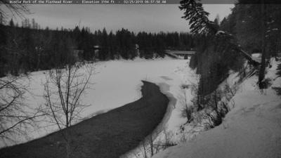 Widespread snow bringing difficult travel, with frigid temperatures across Montana