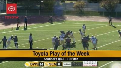 Toyota Play of the Week: Week 8