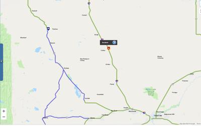 mdt map of dutton flooding