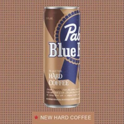 pabst hard coffee ad