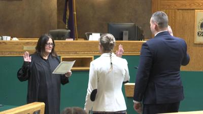 Billings welcomes two new police officers
