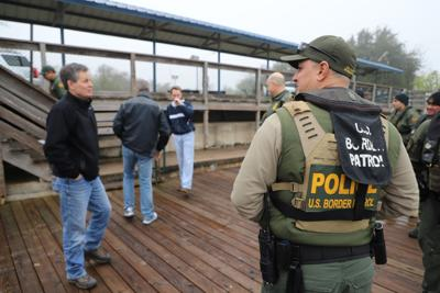Daines Visits Border