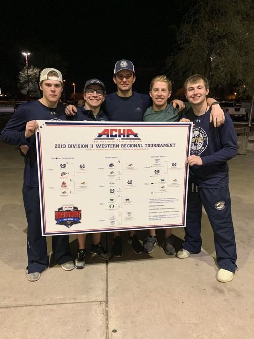 Final fundraising push for Bobcats hockey as they leave on first trip to nationals