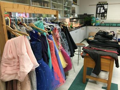 Community donates dresses to help students attend school dances