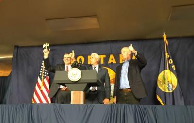 Pence criticizes senator in Montana over Kavanaugh decision