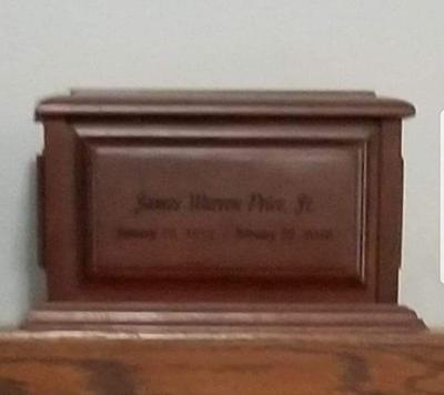 Picture of the urn courtesy of the Great Falls Police Department Facebook