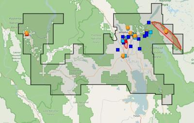 Flathead Electric Power Outage Map.Hundreds Without Power In Flathead News Abcfoxmontana Com